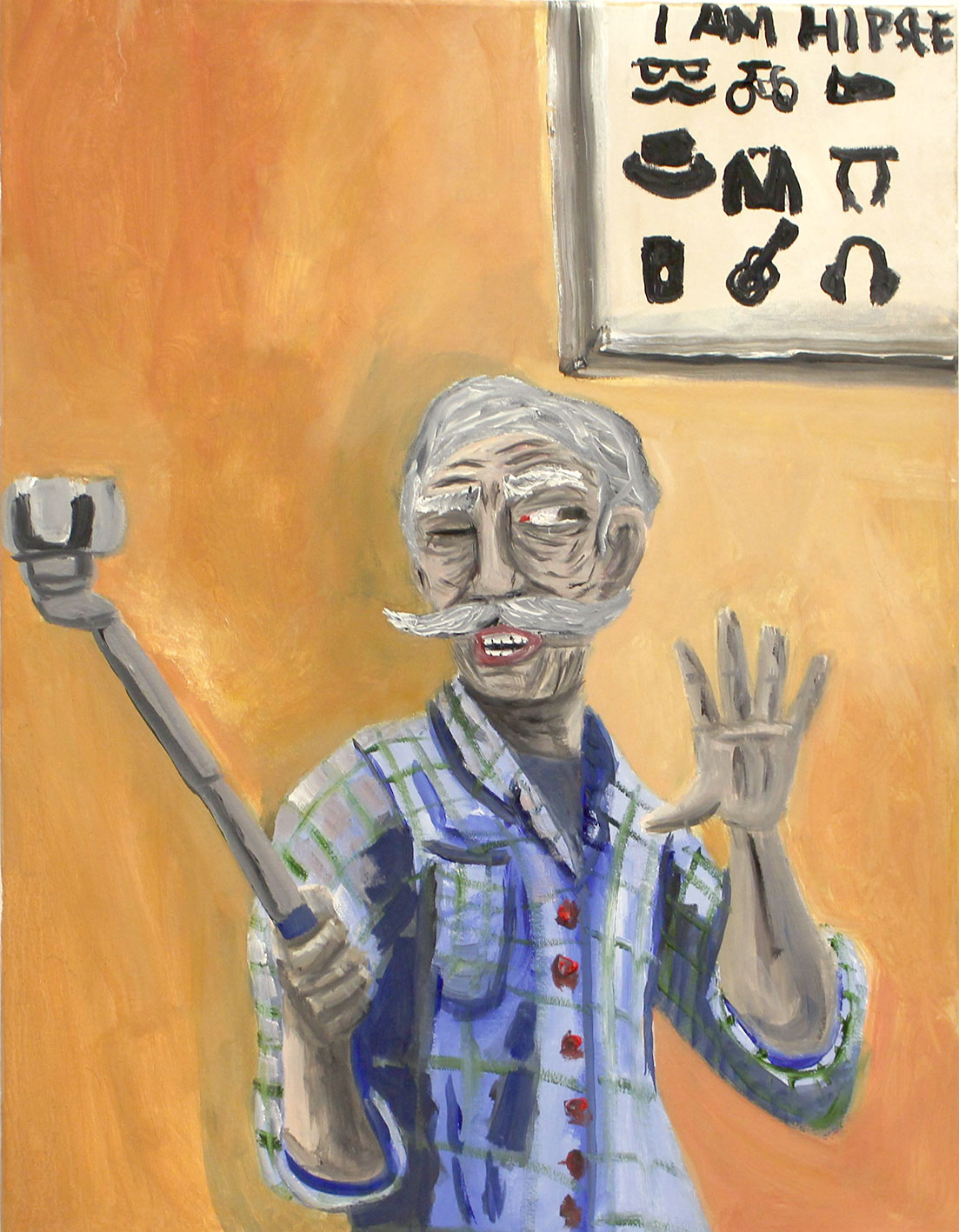How-much-does-a-hipster-weigh.-an-instagram.-oil-on-canvas.-2016.-50-x-70-cm